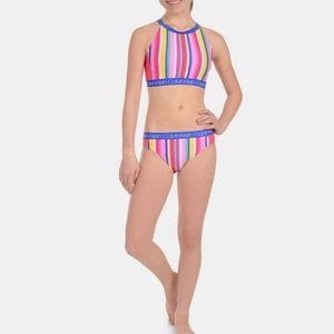 Big Girls 2-Pc Bikini Swimsuit Size M(8/10)